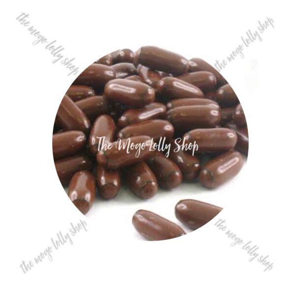 chocolate raspberry bullets