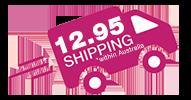 12.95 shipping in australia