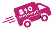 10 dollar shipping in australia